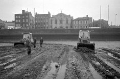 Cleaning out the liffey