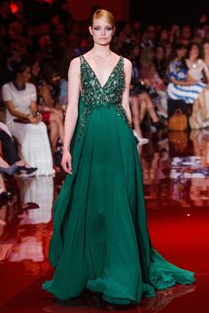 Elie Saab - Fall 2013 Couture 34 - The Cut - The Cut