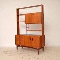 Retro Teak Bookcase / Room Divider by G- Plan Vintage 1960s