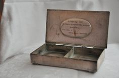 ON SALE-50% OFF Vintage Metal  box /1964/ от RussianshawlMayya