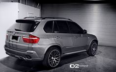 Made by D2FORGED Wheels from one block of forged aluminum, they pose a great addition to a BMW X5 Sports Activity Vehicle