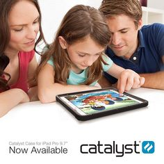 """The #CatalystCase for the 9.7"""" #iPadPro has arrived!  This waterproof drop proof case is the only waterproof everyday solution for your delicate device. Featuring Catalyst's true sound acoustics making video watching and Facetime calls a breeze!  With a Catalyst case your iPad Pro is ready for any adventure!"""