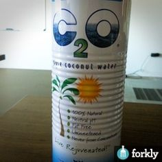 C2O Coconut Water on Forkly