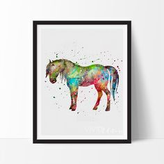 Horse 3 Love this! Unframed 16x20 is $30!