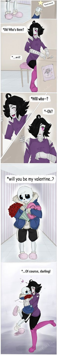 [Valentine's Day] by 00KaoRi00 on DeviantArt<---I don't ship it but that's adorable!!