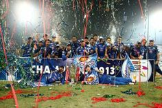 winnr of IPL and Champions Leage 2013 - Mumbai Indians