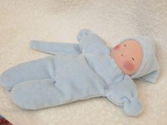 Première poupée Waldorf doudoucadeau bébé par mamancigogne sur Etsy, €26.00