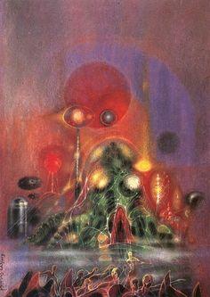 Richard Powers -- War of the Worlds