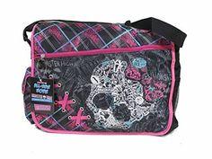 Black and Pink Plaid Monster High Laces Messenger Laptop Bag, http://www.amazon.com/dp/B00MH4T9HC/ref=cm_sw_r_pi_awdm_x_hKNOxb8V2BRTE