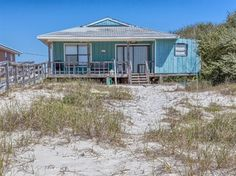Lazy Shores Fort Morgan Gulf Front Vacation House Rental.