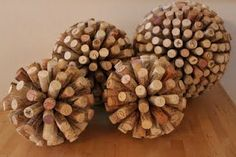 been wondering what to do with those wine corks... happymessart