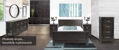 The beautiful Bowen Set from Purba Custom Furniture.