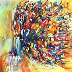 """Victoria Horkan; Oil, Painting """"Butterfly Series 6"""""""