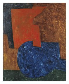 SERGE POLIAKOFF 1906 - 1969 COMPOSITION ABSTRAITE, SIGNED; OIL ON CANVAS. EXECUTED IN 1969.