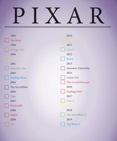 Full list of all Pixar movies from The List Best Movies List, Netflix Movies To Watch, Movie To Watch List, Good Movies On Netflix, Disney Movies To Watch, Film Disney, Tv Series To Watch, Good Movies To Watch, Disney Movie Quotes