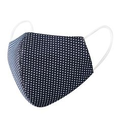 Shop - PremiumFluMasks World Trends, Mouth Mask, Reuse, Printed Cotton, Material, Dots, Unisex, Face, Fabric