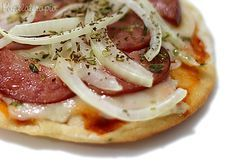 Panelaterapia | Minipizza do Portal Super Culinária | http://panelaterapia.com