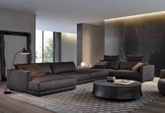 34 inspiring examples of use of luxury living room decor design 34 Related Living Room Modern, Living Room Sofa, Home And Living, Living Room Designs, Living Room Decor, Living Spaces, Sofa Design, Canapé Design, Modern Interior Design