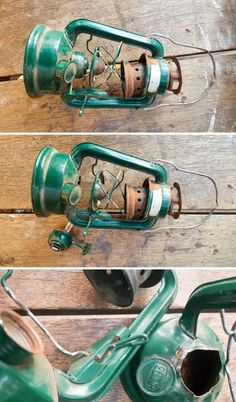 Old School Lantern Planters & Making A Faux Antique Pulley - Flaschenzug Ideen Old Lanterns, Antique Lanterns, Lanterns Decor, Hanging Lanterns, Camping Lamp, Porch Lighting, Pulley, Old School, Diy Home Decor