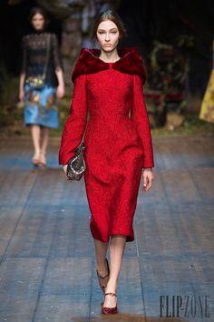 Dolce & Gabbana Fall-winter 2014-2015 - Ready-to-Wear - http://www.flip-zone.net/fashion/ready-to-wear/fashion-houses-42/dolce-gabbana-4602 - ©PixelFormula
