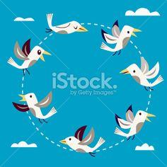 Twitter Network Royalty Free Stock Vector Art Illustration
