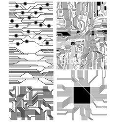 circuit Digital Illustration, Graphic Illustration, Cultura Maker, Circuit Board Design, Tech Art, Id Design, Graphic Design Art, Abstract Pattern, Textures Patterns