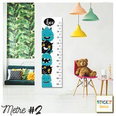 Μέτρο για Παιδικό Δωμάτιο!  Αυτοκόλλητο Αναστημόμετρο σε μοντέρνο χρωματισμό. Έξυπνη πρόταση διακόσμησης του δωματίου σε elegant σχεδιασμό. Συνδυάστε το με αυτοκόλλητα τοίχου σε μαύρο πουά! Table Lamp, Wall Decor, Decoration, Home Decor, Wall Hanging Decor, Decor, Table Lamps, Decoration Home, Room Decor