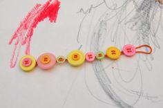 Button Bracelet Front