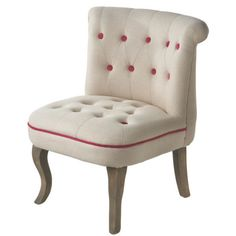 Rasberry Tufted Chair – Lady Builder Shops