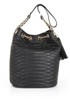 BCBGMAXAZRIA Audrey Quilted Bucket Bag