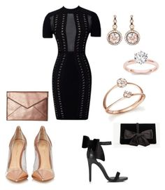 """""""Untitled #1299"""" by marxendjie on Polyvore featuring Bloomingdale's, Selim Mouzannar, Gianvito Rossi, Miss Selfridge, Ann Taylor and Rebecca Minkoff"""