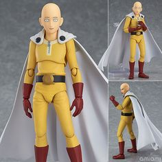 AmiAmi [Character & Hobby Shop] | figma - One-Punch Man: Saitama(Pre-order)