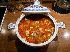 Italienische Fischsuppe à la Gabi, ein raffiniertes Rezept aus der Kategorie Fisch. Bewertungen: 5. Durchschnitt: Ø 4,1.