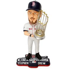 Stephen Drew Boston Red Sox 2013 World Series Champions Bobblehead