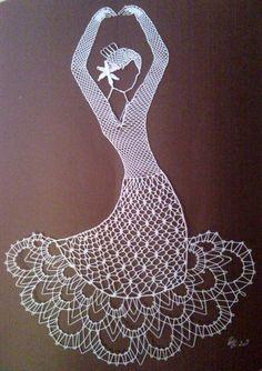 Bobbin Lace Patterns, Crochet Patterns, Diy Yarn Decor, Arte Linear, Sequin Crafts, Kat Von D Makeup, Lacemaking, Parchment Craft, Point Lace