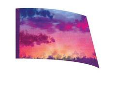Digital Print Flag #137 Color Guard Flag