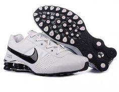 timeless design 8622a d19c7 Shox Nike Shox Deliver White Black Shoes  Nike Shox Deliver - Nike Shox  Deliver White Black Shoes mainly using white leather on surface.