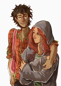James and Lily - art by cookiecreation on Tumblr.