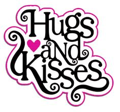 Cutting Files for You: Hugs & Kisses