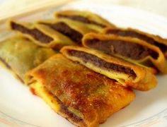 Chinese Cuisine - Red Bean Paste Pancake