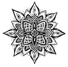 Image result for mandala flower tattoo