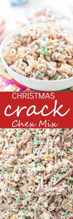 Christmas Crack Chex Mix Recipe
