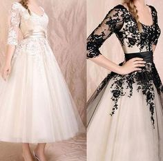 2016 New Arrival Wedding Dress Lace A Line Tulle Short Wedding Gowns Half Sleeve Elegant Bridal Dress Vestido De Novia