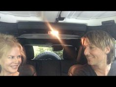 Keith Urban and Nicole Kidman lip sync to 'The Fighter' inside their SUV. Love this! :)