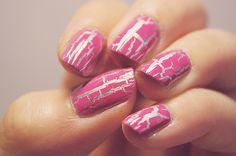 Very Me Nail Graffiti Base Coat in Silver (24601) and Very Me Nail Graffiti Top Coat in Pink (24599)