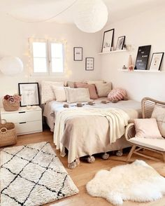 Room Ideas Bedroom, Small Room Bedroom, Couple Bedroom, Men Bedroom, Bedroom Ideas For Small Rooms, Ikea Room Ideas, Ikea Bedroom Decor, Diy Bedroom Decor For Teens, Trendy Bedroom
