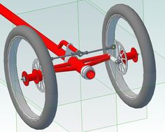 LWB recumbent design - Page 5 - BentRider Online Forums Bicycle Crafts, Radio Flyer Wagons, Electric Tricycle, Recumbent Bicycle, Cargo Bike, Bicycle Maintenance, Bobber Motorcycle, Bike Style, Pedal Cars