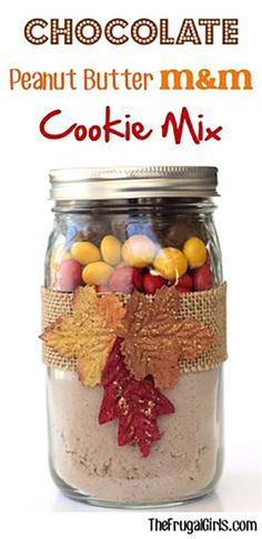 10 Fall-Inspired Mason Jar Cookie Recipes