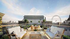Corinthia Hotel London in London | Splendia - http://pinterest.com/splendia/