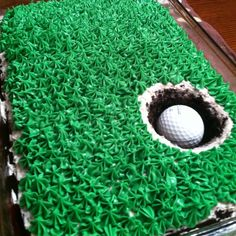 great cake idea for golf lovers 30th Party, 1st Birthday Parties, It's Your Birthday, Boy Birthday, Birthday Ideas, Theme Cakes, Party Cakes, Cake For Boyfriend, Pinterest Cake
